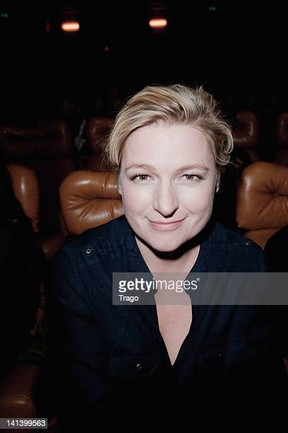 AnneElisabeth Lemoine attends 'Le Cirque Eloize' VIP premiere at Le Grand Rex on March 15 2012 in Paris France