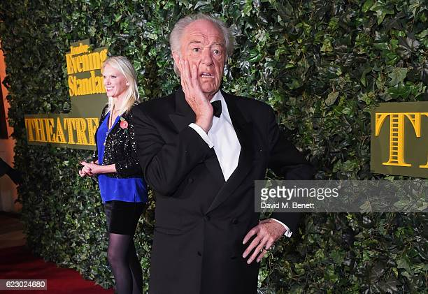 Anneka Rice and Sir Michael Gambon arrive at The 62nd London Evening Standard Theatre Awards recognising excellence from across the world of theatre...