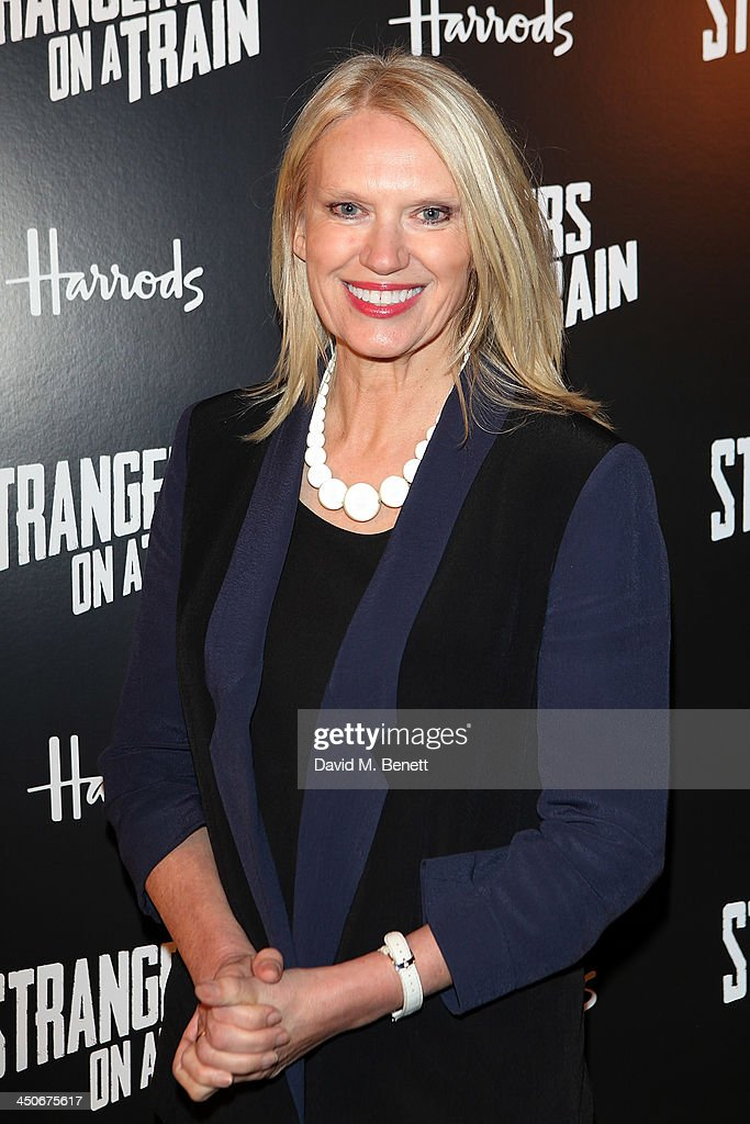 <a gi-track='captionPersonalityLinkClicked' href=/galleries/search?phrase=Anneka+Rice&family=editorial&specificpeople=157713 ng-click='$event.stopPropagation()'>Anneka Rice</a> attends an after party following the press night performance of 'Strangers On A Train' at the Cafe de Paris on November 19, 2013 in London, England.