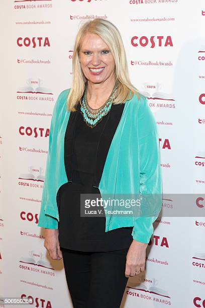 Anneka Rice attends Costa Book Of The Year Awards on January 26 2016 in London England