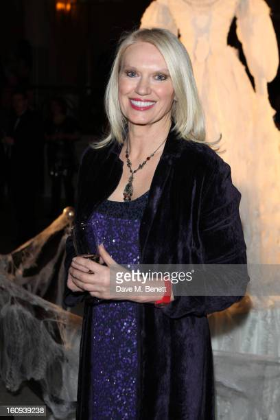 Anneka Rice attends 'Great Expectations' gala opening night after party on February 7 2013 in London England