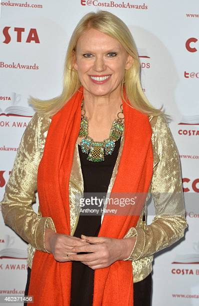 Anneka Rice attends the Costa Book of the Year award at Quaglinos on January 27 2015 in London England
