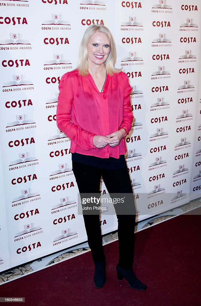 Anneka Rice attends the Costa Book of the Year awards at Quaglino's on January 29, 2013 in London, England.