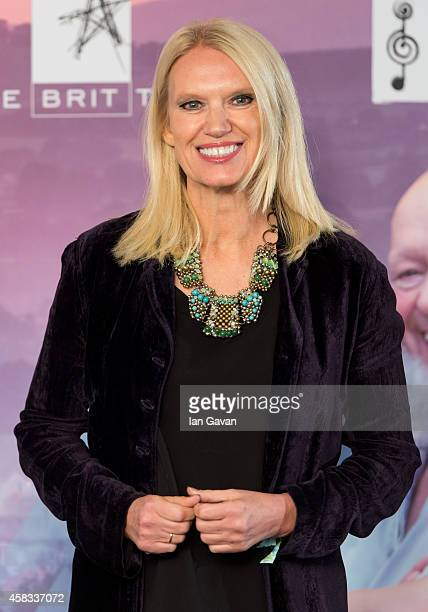Anneka Rice attends the Music Industry Trust Awards at Grosvenor House Hotel on November 3 2014 in London England The Music Industry Trust Award is...