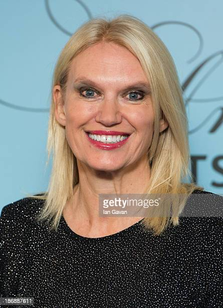 Anneka Rice attends the Music Industry Trust awards at The Grosvenor House Hotel on November 4 2013 in London England