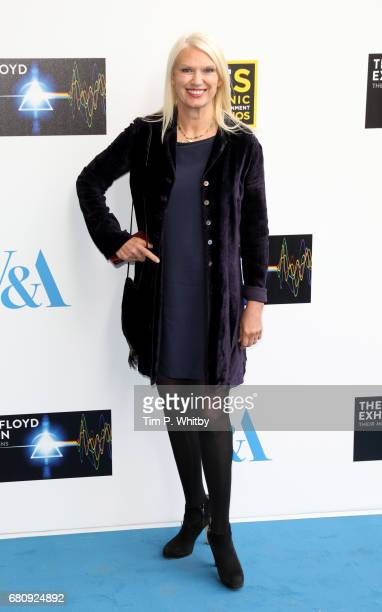 Anneka Rice attends the Pink Floyd Exhibition Their Mortal Remains at the VA on May 9 2017 in London England