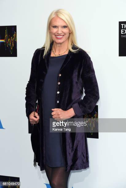 Anneka Rice attends the Pink Floyd Exhibition Their Mortal Remains at The VA Museum on May 9 2017 in London England