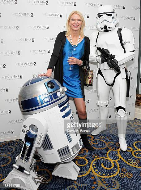 Anneka Rice attends the Star Wars Black Tie Dinner and Quiz at Hilton Park Lane on February 2 2012 in London England