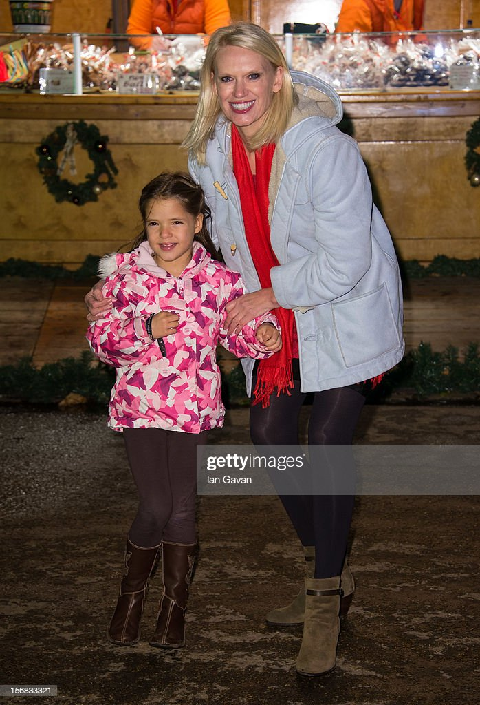 Anneka Rice attends the Winter Wonderland launch party at Hyde Park on November 22, 2012 in London, England.