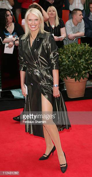 Anneka Rice during The 2006 British Academy Television Awards Arrivals at Grosvenor House in London Great Britain