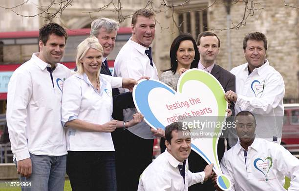 Anneka Rice Matthew Pinsent Colin Jackson Neil Fox and guests