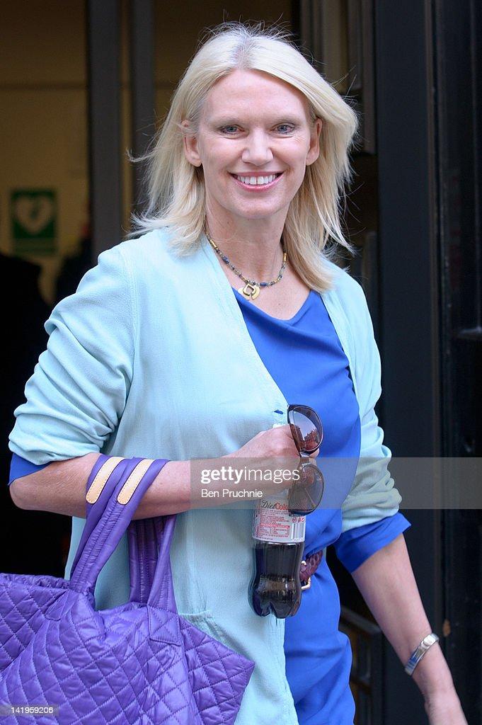 Celebrity Sightings In London - March 27, 2012