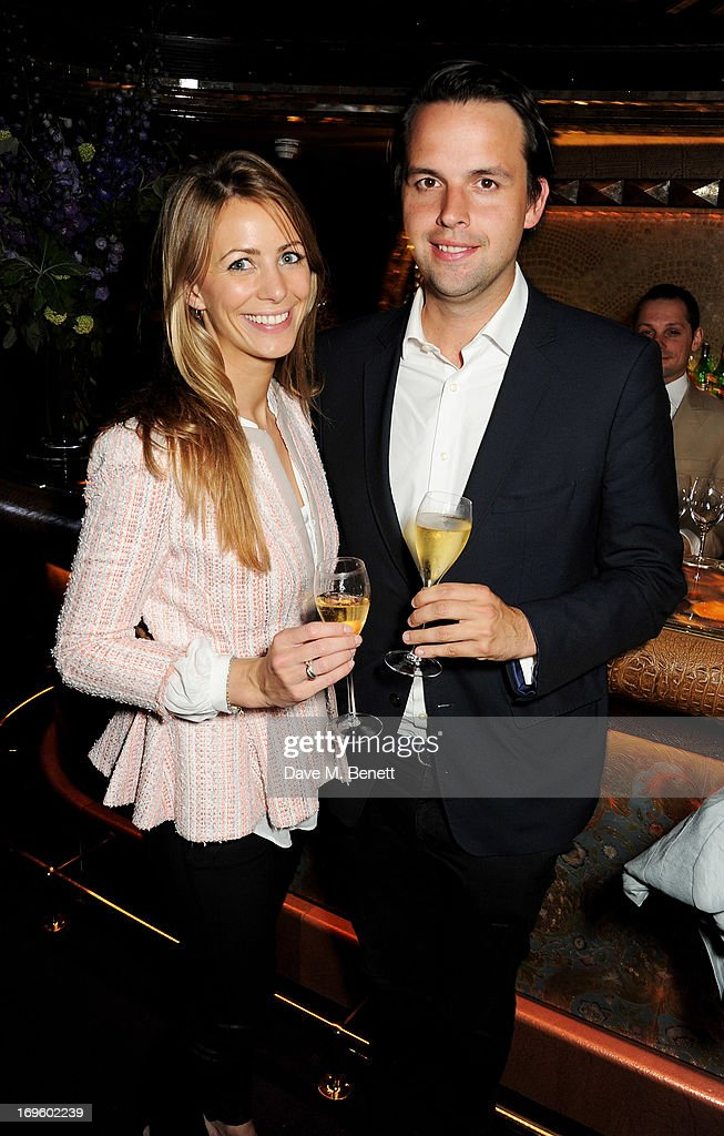 Anneke Von Trotha Taylor (L) and Charlie Gilkes attend the launch of 'The New Digital Age: Reshaping The Future Of People, Nations and Business' by Eric Schmidt and Jared Cohen, hosted by Jamie Reuben, at Loulou's on May 28, 2013 in London, England.