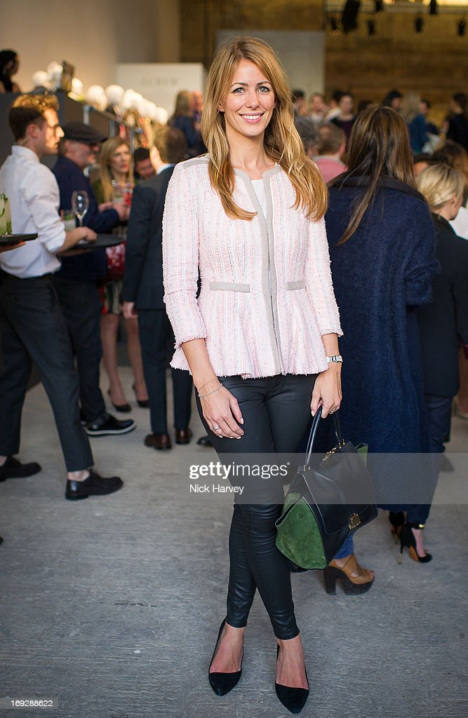 Anneke von Trotha Taylor attends private event to celebrate J.Crew And Central Saint Martins partnership at J.Crew on May 22, 2013 in London, England.