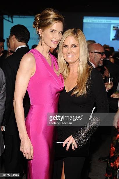 Annelise Peterson and Mary Alice Haney attend the second annual Baby2Baby Gala honoring Drew Barrymore at Book Bindery on November 9 2013 in Culver...