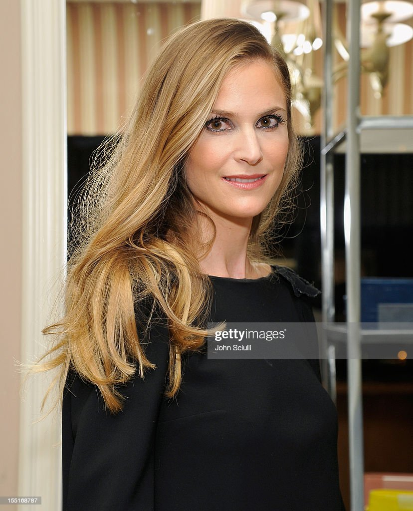 Annelise Peterson attends a dinner hosted by Ali Larter celebrating the Devi Kroell Spring Summer 2013 Collection at Sunset Tower on November 1, 2012 in West Hollywood, California.