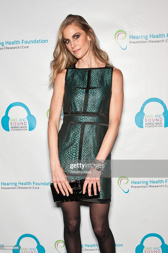 Annelise Peterson attends the Hearing Health Foundation's An Intimate Evening with Cyndi Lauper at B.B. King Blues Club & Grill on February 6, 2013 in New York City.