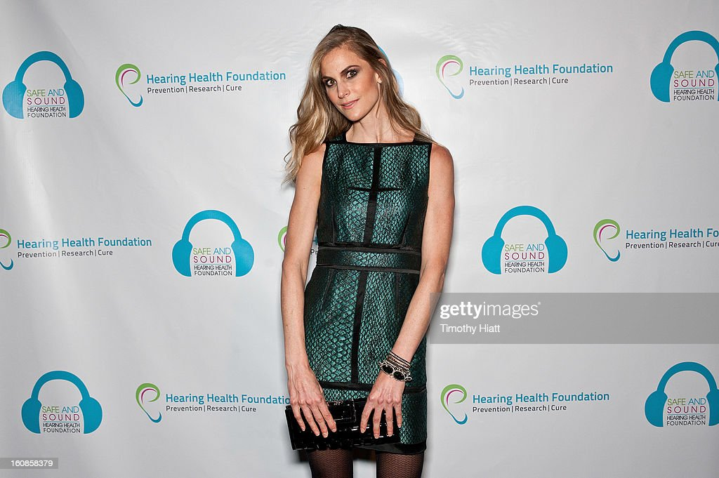 <a gi-track='captionPersonalityLinkClicked' href=/galleries/search?phrase=Annelise+Peterson&family=editorial&specificpeople=581498 ng-click='$event.stopPropagation()'>Annelise Peterson</a> attends the Hearing Health Foundation's An Intimate Evening with Cyndi Lauper at B.B. King Blues Club & Grill on February 6, 2013 in New York City.