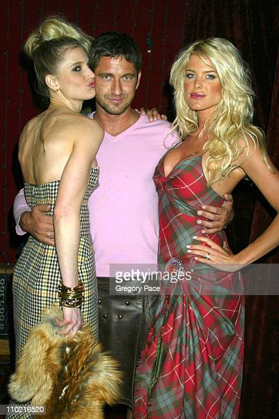 Annelise Petterson Gerard Butler and Victoria Silvstedt *Exclusive*