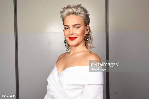 AnneMarie at MTV Live Stage at ExCel on June 8 2017 in London England MTV Live Stage is a new music series that puts the artist at the epicentre of...