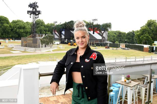 AnneMarie attends the Barclaycard Presents British Summer Time Media Day at Hyde Park on June 29 2017 in London England