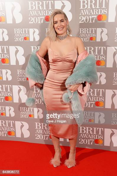 ONLY AnneMarie attends The BRIT Awards 2017 at The O2 Arena on February 22 2017 in London England