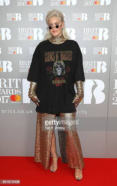 ARTIST AnneMarie attends The BRIT Awards 2017 nominations launch party at ITV Studios on January 14 2017 in London United Kingdom