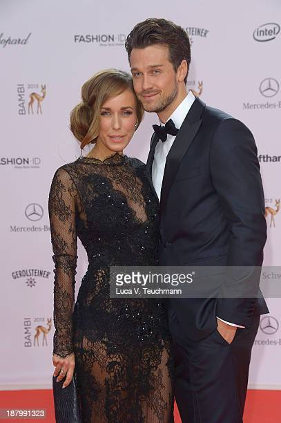 Annemarie Carpendale and Wayne Carpendale attend the Bambi Awards 2013 at Stage Theater on November 14 2013 in Berlin Germany