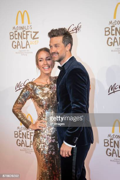 Annemarie Carpendale and Wayne Carpendale attend the McDonald's charity gala at Hotel Bayerischer Hof on November 10 2017 in Munich Germany