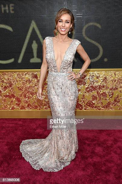 Annemarie Carpendale attends the 88th Annual Academy Awards at Hollywood Highland Center on February 28 2016 in Hollywood California