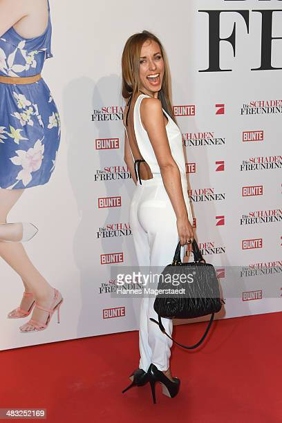 Annemarie Carpendale attends the German premiere of the film 'The Other Woman' at Mathaeser Filmpalast on April 7 2014 in Munich Germany