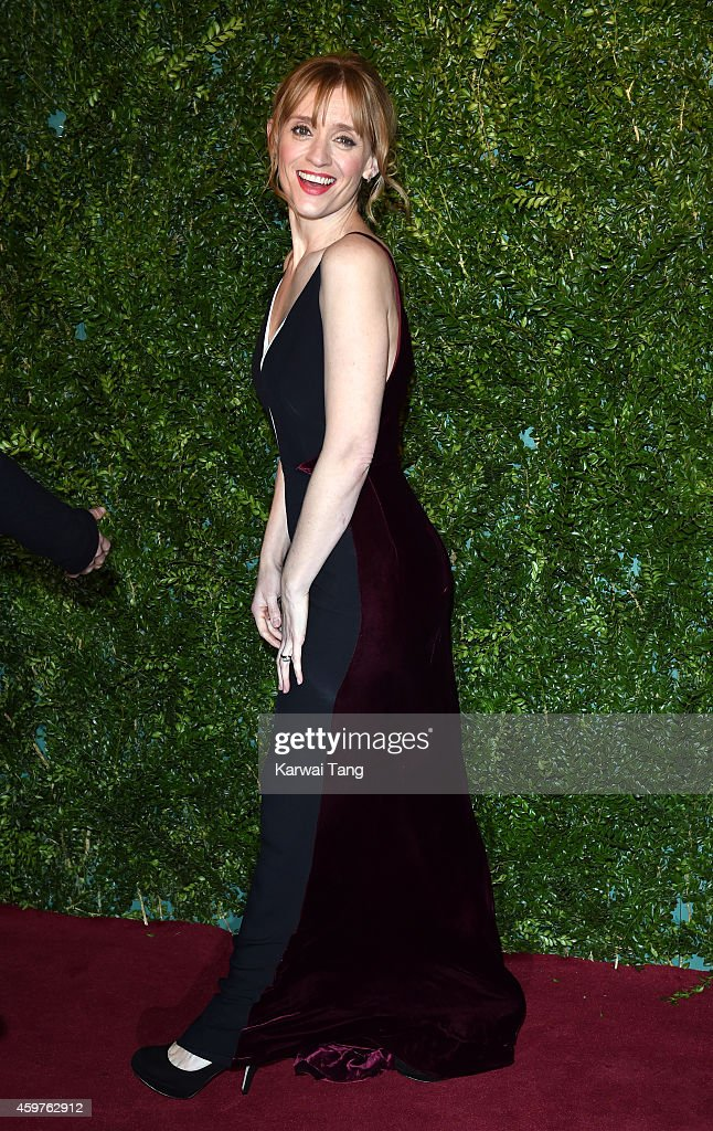 Anne-Marie Duff attends the 60th London Evening Standard Theatre Awards at London Palladium on November 30, 2014 in London, England.