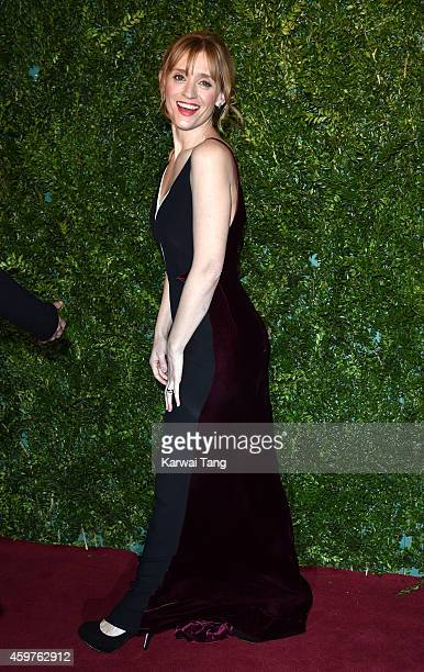 AnneMarie Duff attends the 60th London Evening Standard Theatre Awards at London Palladium on November 30 2014 in London England
