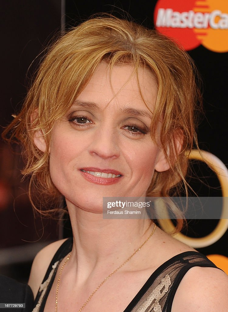 Anne-Marie Duff attends The Laurence Olivier Awards at The Royal Opera House on April 28, 2013 sLondon, England.