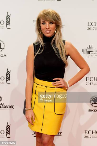 Annemarie Eilfeld on the red carpet during the ECHO German Music Award in Berlin Germany on April 06 2017