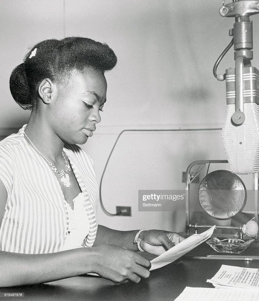 Anne-Marie Lunga, the first native African Feminine radio ...