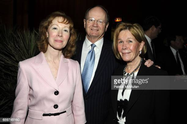 AnneMarie Morrissey George Irish and Jeanie Irish attend PARADE MAGAZINE and SI Newhouse Jr honor Walter Anderson at The 4 Seasons Grill Room on...