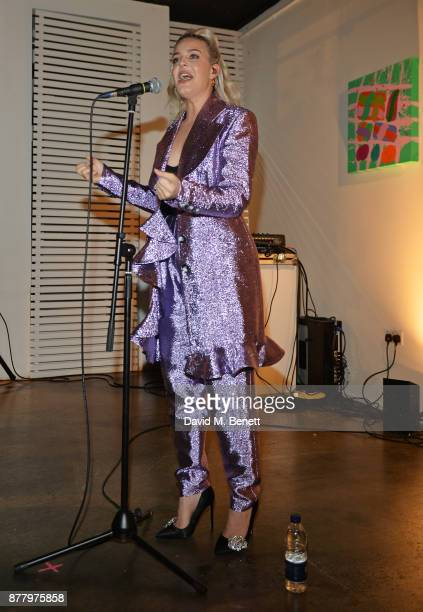 AnneMarie performs at an intimate dinner hosted by Henry Holland and Andrew Nugent to celebrate the House of Holland Resort 18 collection and Bird In...