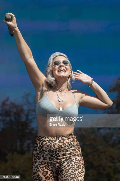 AnneMarie performs at Hyde Park on July 2 2017 in London England