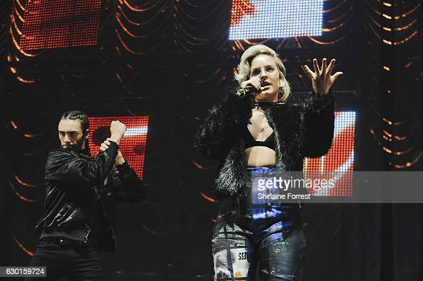 AnneMarie performs at Radio City Christmas Live at Echo Arena on December 17 2016 in Liverpool England