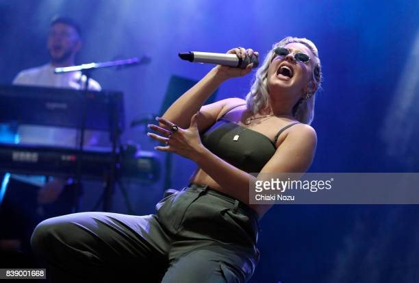 AnneMarie performs at Reading Festival at Richfield Avenue on August 25 2017 in Reading England