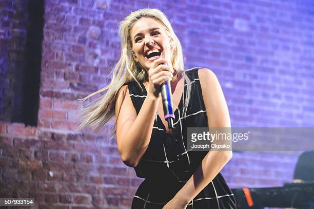 AnneMarie performs at Village Underground on February 1 2016 in London England