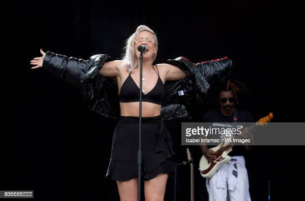 AnneMarie performs on the MTV Stage at the V Festival in Hylands Park Chelmsford