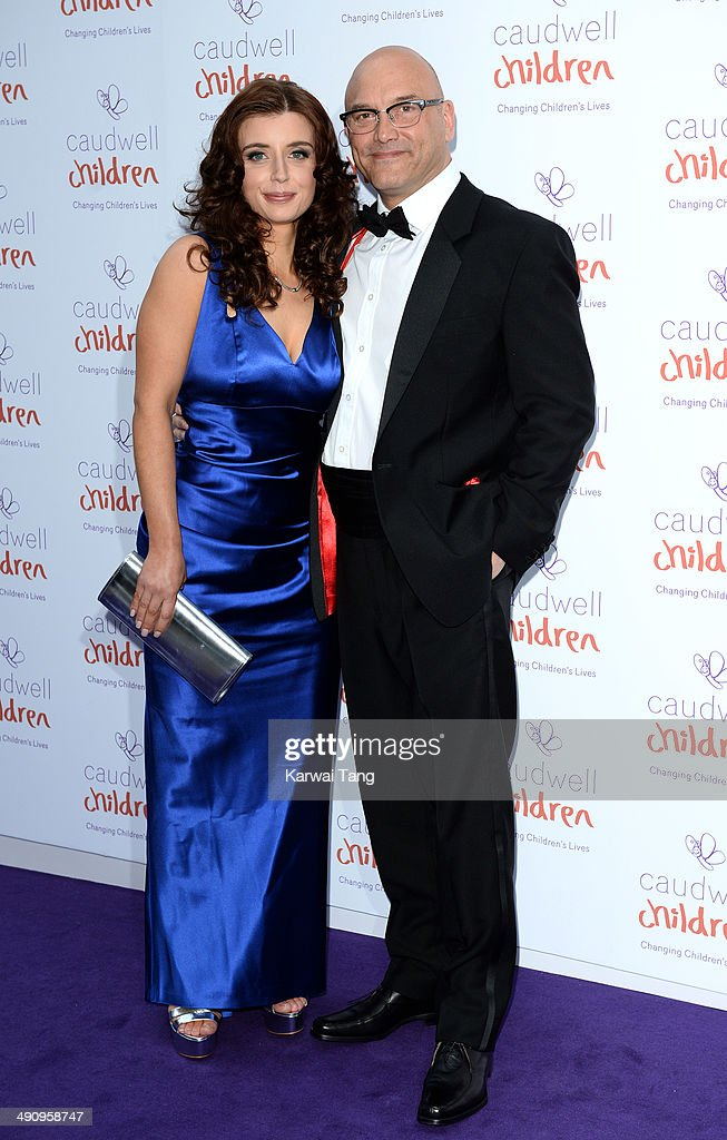 AnneMarie Sterpini and Greg Wallace attend the Caudwell Children Butterfly Ball held at the Grosvenor House Hotel on May 15 2014 in London England