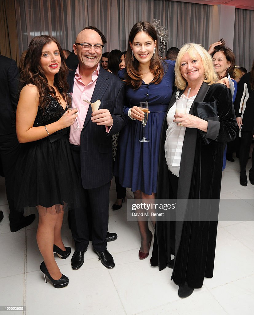 Anne-Marie Sterpini, Greg Wallace, <a gi-track='captionPersonalityLinkClicked' href=/galleries/search?phrase=Sophie+Winkleman&family=editorial&specificpeople=716102 ng-click='$event.stopPropagation()'>Sophie Winkleman</a> and Judy Madeley attends the pre-party for the English National Ballet's The Nutcracker at St Martin's Lane Hotel on December 12, 2013 in London, England.