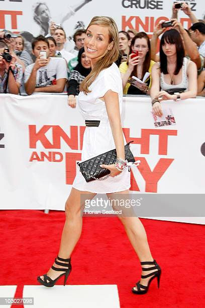 Annemarie Warnkross attends the Germany Premiere of 'Knight and Day' at cinema Gloria Palast at Stachus on July 21 2010 in Munich Germany