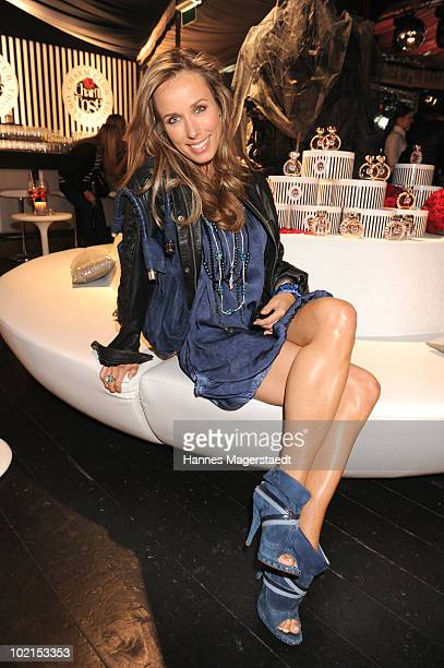 Annemarie Warnkross attends the Thomas Sabo parfum launch party at the Spiegelsalon on June 16 2010 in Munich Germany