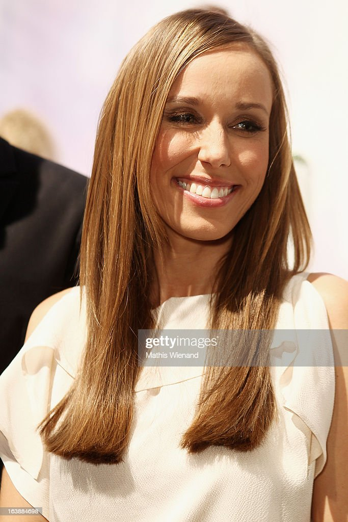 Annemarie Warnkross attends the Top Hair International Beauty Fair on March 17, 2013 in Dusseldorf, Germany.