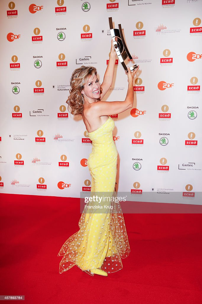 <a gi-track='captionPersonalityLinkClicked' href=/galleries/search?phrase=Anne-Sophie+Mutter&family=editorial&specificpeople=784120 ng-click='$event.stopPropagation()'>Anne-Sophie Mutter</a> attends the ECHO Klassik 2014 on October 26, 2014 in Munich, Germany.