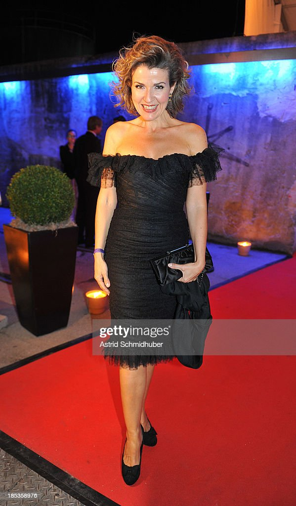 Anne-Sophie Mutter (Violinist) attends the Hadassah Dinner And Dance Charity Gala at the Kesselhaus on October 19, 2013 in Munich, Germany.